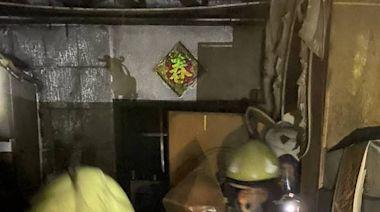 岡山民宅火警父女獲救送醫 3車遭波及火噬