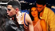 Kendall Jenner Kisses Devin Booker Courtside in Rare Display of PDA