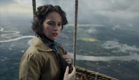 'The Aeronauts' star Felicity Jones talks flying in a hot-air balloon and reuniting with Eddie Redmayne in new thriller