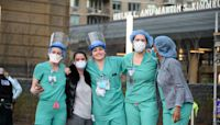 Boston Medical Center workers celebrate COVID vaccine arrival in viral TikTok