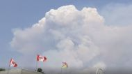 British Columbia's Thomas Creek Fire Forms Huge Pyrocumulus Cloud
