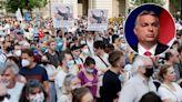 復旦分校風波 匈牙利國會無視近萬人示威反對建校 表決通過捐出四塊官地   蘋果日報