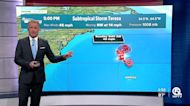 Subtropical Storm Teresa forms north of Bermuda