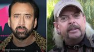 Nicolas Cage says Amazon's planned Joe Exotic series is 'no longer relevant'