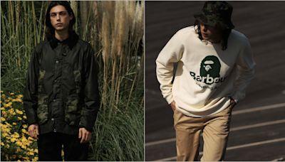 時尚|Barbour x BAPE首度聯名!油布防水外套更「潮」了 毛小孩也一起穿迷彩裝 | 蘋果新聞網 | 蘋果日報