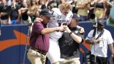 Texas A&M QB Haynes King has 'crack' in lower leg, underwent surgery