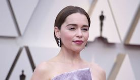 Emilia Clarke offering up virtual dinner date for charity