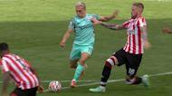 Trossard snatches 90th-minute Brighton winner