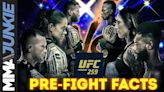 UFC 259 pre-event facts: Israel Adesanya's champ-champ attempt comes with a twist