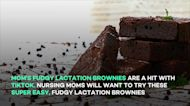 Mom's fudgy lactation brownies are a hit with TikTok
