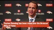 Peyton Manning voted into Broncos' Ring of Fame