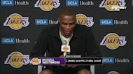 Russell Westbrook introduced as a Laker