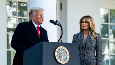 Melania Trump Was Nowhere to Be Seen in These Photos From Donald Trump's 75th Birthday