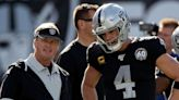 Raiders' John Gruden, Derek Carr are developing chemistry in Las Vegas