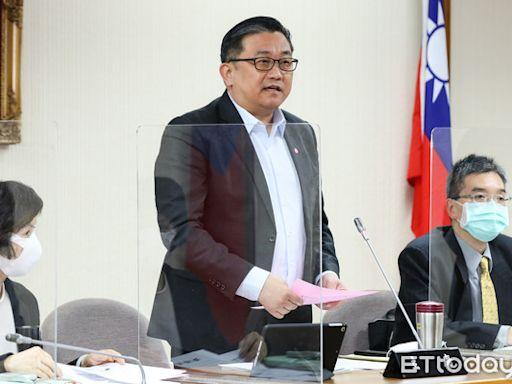 王定宇建議政府直接向WTO提告 「一定把中國這筆賬記在心裡」