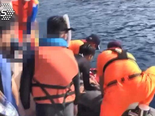 揮手求援!8遊客小琉球潛水體力不支 巡防艇急搶救