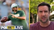 Clay Travis likes Aaron Rodgers and Packers to dominate the Saints on Sunday I FOX BET LIVE