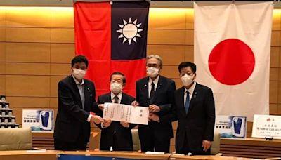 見證台日善的循環!菅義偉發文感謝台灣提供1萬台血氧機、1008台製氧機