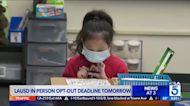 L.A. schools to require COVID-19 testing for all students and staff, regardless of vaccination status