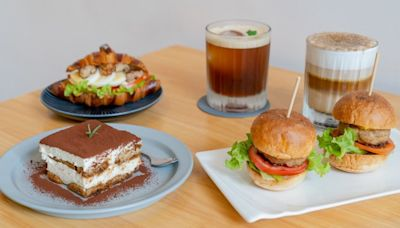 【台中】悅癮咖啡Andorfin Coffee。讓人愉悅成癮的自家烘焙咖啡、歐洲茶飲、手作蛋糕、早午餐。
