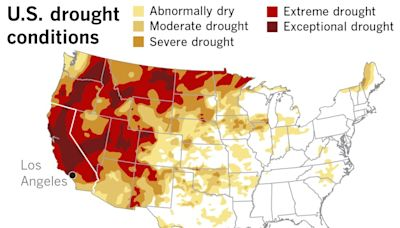 A 'thirsty' atmosphere is propelling Northern California's drought into the record books