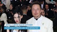 Elon Musk and Grimes Split After 3 Years: 'We Are Semi-Separated but Still Love Each Other'