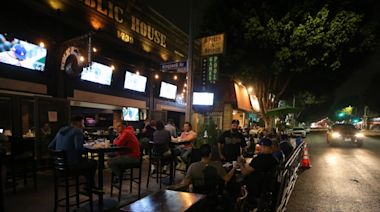 LA's Ban On Outdoor Dining Stands As More Restrictions Loom