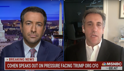 Michael Cohen says Ivanka and Jared were involved in setting up false documents to protect Trump