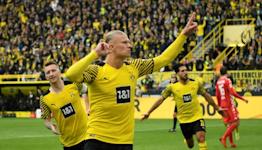 Haaland scores twice on comeback as Dortmund go top