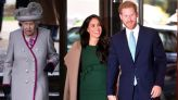 Queen Elizabeth Has Picture of Prince Harry and Meghan Markle Displayed at Buckingham Palace