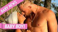 Vanessa Morgan Shares Sweet Shot of 'Riverdale' Costars Meeting Son River