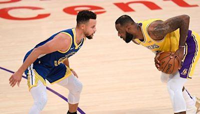NBA:庫里衝擊三分王 詹姆斯得分歷史第二