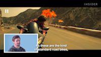 Motorbike champion Casey Stoner rates 10 motorcycle stunts in movies