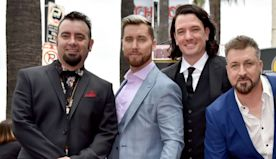 Members of NSYNC reunite -- over Zoom -- for Lance Bass' birthday