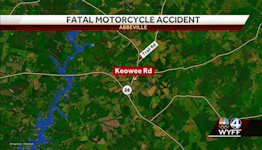 Coroner identifies motorcyclist killed in crash in Abbeville County