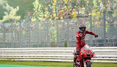 【MotoGP戰報:聖馬利諾站】,Quartararo差一點就追到了,Bagnaia再奪一冠展現實力