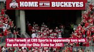 CBS sends mixed signals in Ohio State football win total for 2021