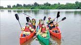 五結水產豐年祭 開放冬山河划獨木舟