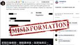 【傳真社Fact Check】「向香港警察致敬」誤指星期日查不到車輛登記