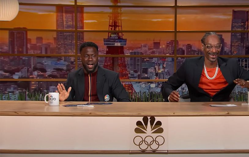 Watch Kevin Hart and Snoop Dogg Hilariously Recap Olympic Equestrian Event: 'That's Gangsta'