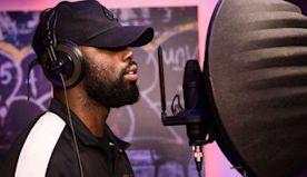 Ghetts opens PUMA's Suede Music Studio in London