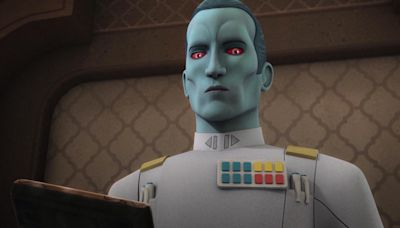 Who is Grand Admiral Thrawn in The Mandalorian? And have we met the Star Wars character before?