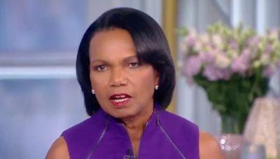 'The View': Condoleezza Rice Has 'Absolutely Zero' Desire to Work in Washington DC Again (Video)