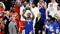 Kawhi Leonard Wins First All-Star MVP Trophy Named for Kobe Bryant