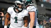 Eagles QB Jalen Hurts prepares for Buccaneers' aggressive defense as a duel with Tom Brady awaits