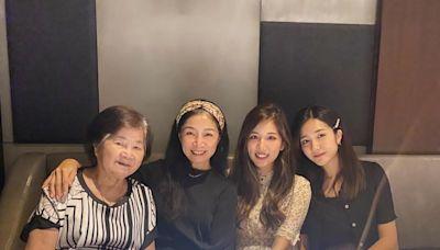 56歲美魔女!方文琳恢單15年 同框校花級女兒像3姊妹 | 星鮮事 | Babyou姊妹淘