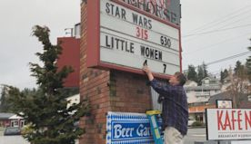 A small town silver-screen fairy tale, with real buttered popcorn