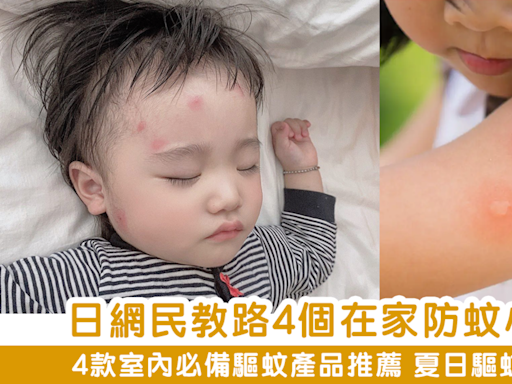 【夏日驅蚊】日網民教路 盤點4個在家防蚊小妙招+ 4款室內必備驅蚊產品推薦 - MAMA730 - am730