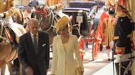 Felipe de Edimburgo, unos pasos por detrás de Isabel II