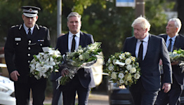 Leaders pay tribute to British lawmaker who was stabbed to death